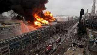 بالفيديو.. انفجار قوي يهز مصنعا شمال شرقي الصين