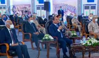 بالفيديو.. السيسي: الإصلاح الاقتصادي ساهم في تجاوز عقبة أزمة فيروس كورونا