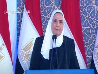 بالفيديو.. كلمة وزيرة التضامن الاجتماعي خلال افتتاح «الأسمرات 3» وعدد من المشروعات القومية