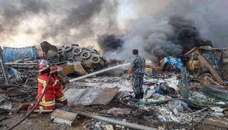 السفارة المصرية بلبنان: وفاة مواطن مصري ثالث جراء انفجار ميناء بيروت البحري