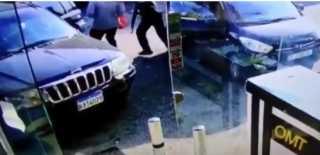 بالفيديو.. لبنان.. خطف في وضح النهار وتحت تهديد السلاح