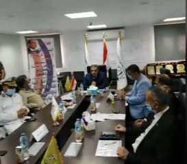 بث مباشر..  وزير القوي العاملة  خلال زيارته لمدينة العلمين الجديدة