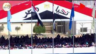 بث مباشر.. الرئيس السيسى يشهد حفل تخرج دفعةجديدة من طلبة الكلية الحربية