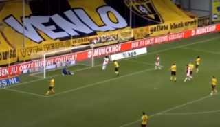 """أياكس أمستردام """"يذل"""" منافسه فينلو ويسجل أكبر فوز في تاريخ الدوري الهولندي"""