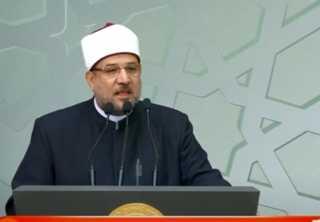 بالفيديو.. كلمة وزير الاوقاف خلال الأحتفال بذكرى المولد النبوى
