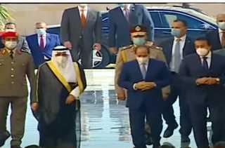 السيسي يتفقد جامعة الملك سلمان بشرم الشيخ والمبانى التابعة لها