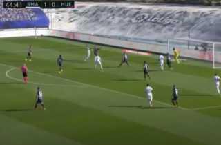بالفيديو.. ريال مدريد يتقدم على هويسكا بهدفى هازارد وبنزيما في الشوط الأول