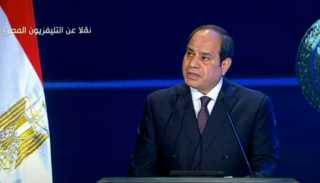 بالفيديو.. الرئيس السيسي يوجه التحية الى أرواح الشهداء وأسرهم