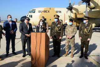 القوات المسلحة المصرية ترسل مساعدات طبية إلى الجيش اللبنانى