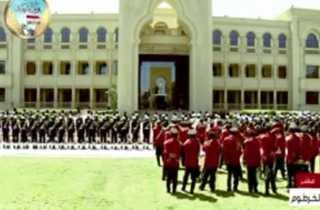 يث مباشر.. مراسم استقبال رسمية للرئيس السيسى فى الخرطوم فى مستهل زيارة السودان