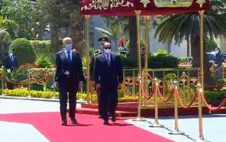 بث مباشر .. الرئيس السيسى يستقبل نظيره التونسى قيس سعيد فى قصر الاتحادية