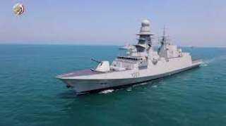 بالفيديو.. وصول الفرقاطة برنيس إلى قاعدة الإسكندرية للانضمام للقوات البحرية