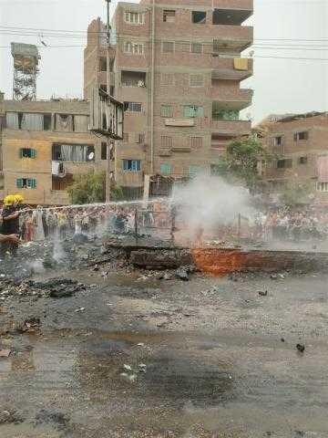 السيطرة على حريق اندلاع في كابينة غاز بشبرا الخيمة