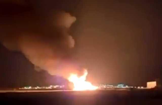 بالفيديو.. الكويت.. حريق في حقل برقان للنفط