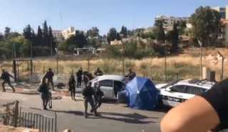 بالفيديو.. إصابة 7 جنود إسرائيليين في حادث دهس بالقدس المحتلة