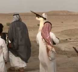 بالفيديو.. إطلاق قذيفة آر بي جي خلال تشييع زعيم قبلي عراقي
