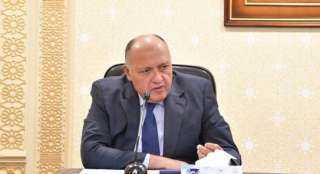سامح شكري يشارك في اجتماع وزراء الخارجية العرب بالدوحة