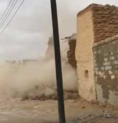 بالفيديو.. السعودية.. السيول تجرف 3 آلاف قطعة أثرية