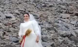 فتاة تركية تعلن زواجها من جبل