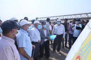 وزير النقل يتابع أعمال تنفيذ مشروع قطار العين السخنة  -العلمين الجديدة - مرسى مطروح