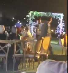"""بالفيديو.. لبنان.. مقتل مواطن في حفل زفاف على خلفية """"قضية ثأر"""""""