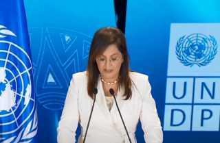 بالفيديو.. كلمة الدكتورة هالة السعيد وزيرة التخطيط خلال فاعلية إطلاق تقرير الأمم المتحدة للتنمية