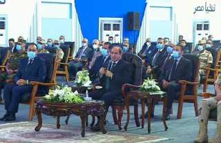 بالفيديو.. كلمة الرئيس السيسي خلال افتتاح عدد من المشروعات القومية لتنمية شبة جزيرة سيناء