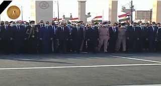 شاهد.. الرئيس السيسى يتقدم الجنازة العسكرية للمشير محمد حسين طنطاوى