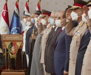 بث مباشر.. الرئيس السيسي يشهد حفل تخريج دفعات جديدة من طلاب الكليات والمعاهد العسكرية