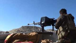 """الجيش اليمني يعلن مقتل وإصابة عشرات الحوثيين """"بينهم قيادات"""" وينشر مقاطع فيديو للمواجهات العنيفة"""