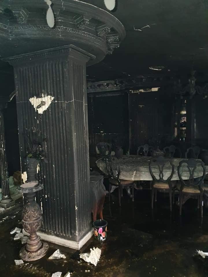 نتيجة بحث الصور عن حريق في فيلا إيهاب توفيق.. ووفاة والده